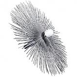 """Flat Star Wire Brush for Viper - 10"""" Brush For 8"""" Flue"""