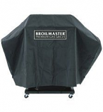 Broilmaster Full Length Grill Cover with 2 Cup Holders Side Shelves
