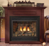 Empire EMBF3SC Standard Cabinet Mantel with Base - Cherry