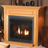 Empire EMF22C Standard Cabinet Mantel with Base - Cherry