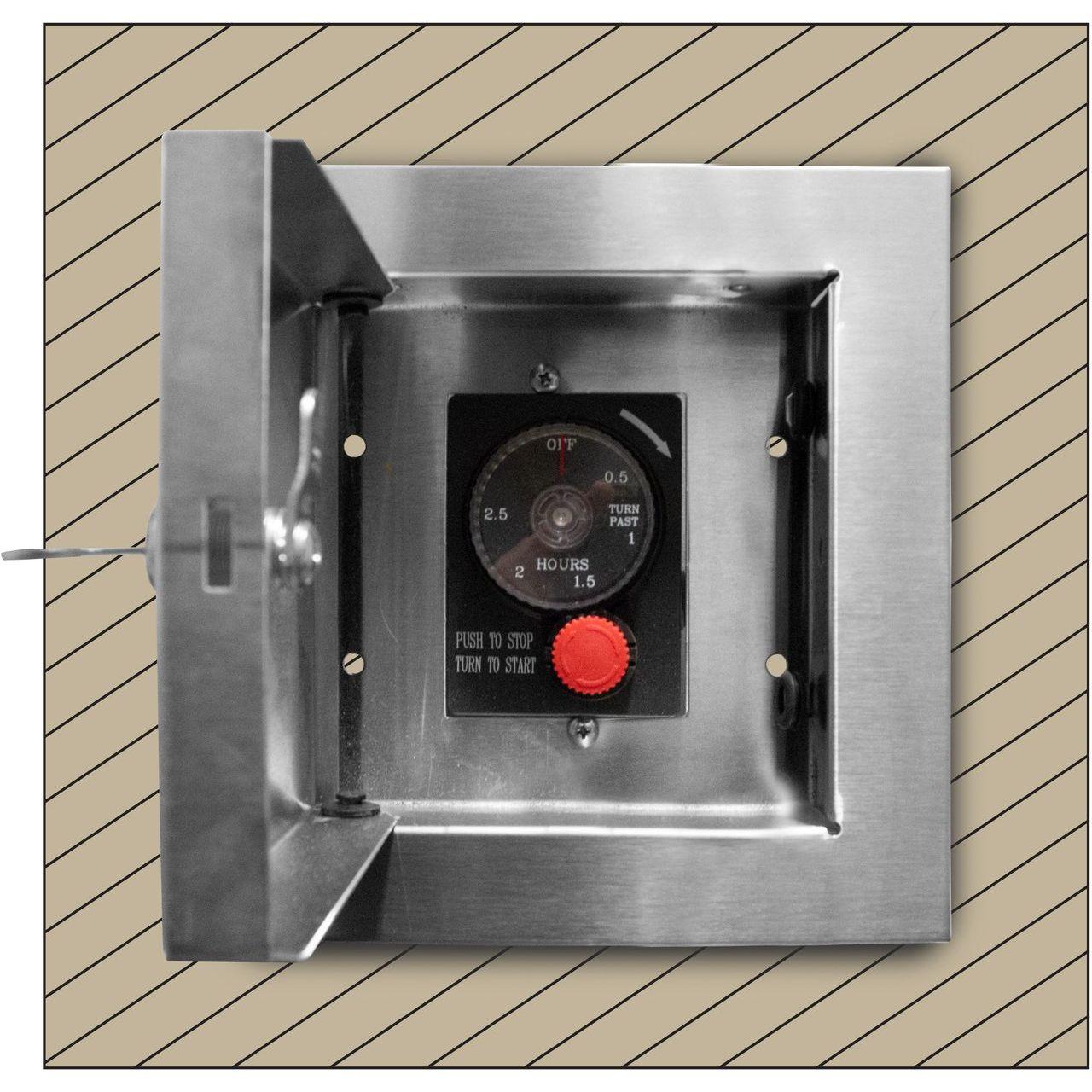 Firegear ESTOP-LC-KIT E-Stop Timer Locking Cabinet Kit