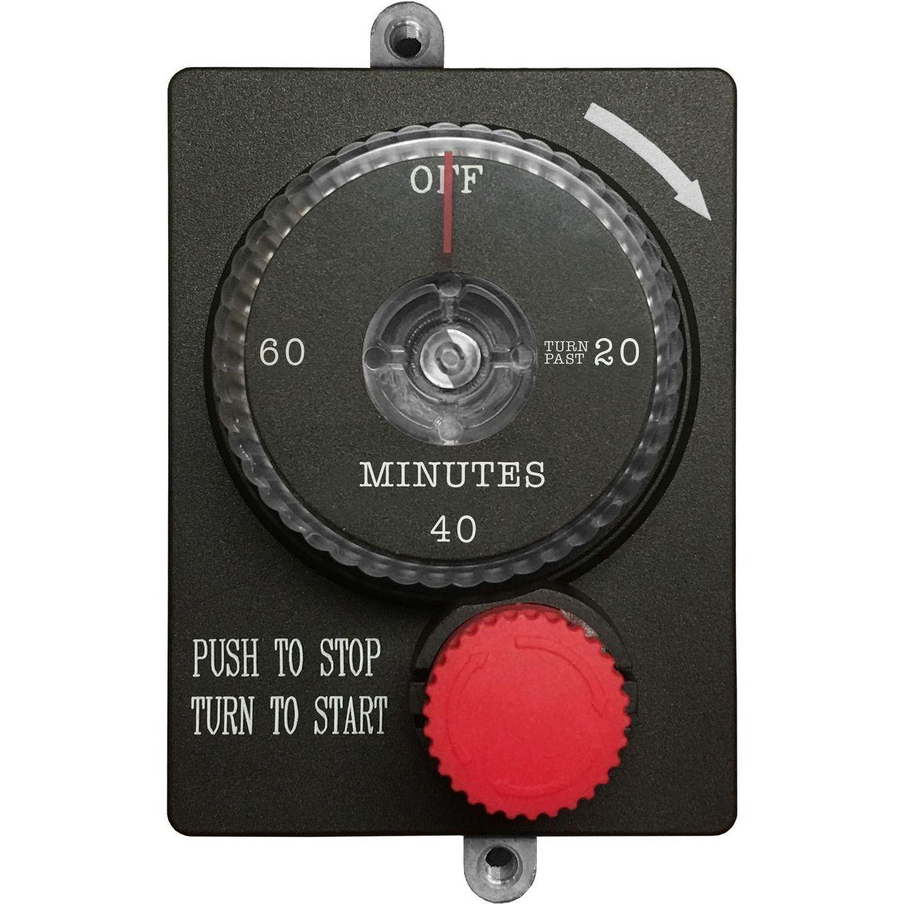 Summerset E-STOP 1-Hour Mechanical Timer With Emergency Shut-Off