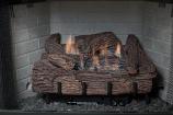 "Palmetto Oak 24"" 6-Piece Refractory Log Set & NG Manual Control Burner"