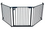 XpandaGate Extendable Gate System, Black