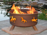 Western Fire Pit F104 By Patina Products