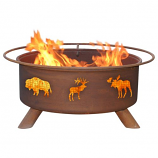 Patina F106 Wildlife Fire Pit