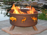 Wildlife Fire Pit F106 By Patina Products