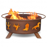 Patina F109 Old West Fire Pit
