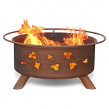 Patina F111 Grapevines Fire Pit