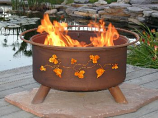 Grapevines Fire Pit F111 By Patina Products