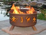 Kokopelli Fire Pit Model F112