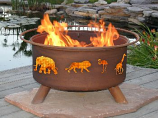 Safari Fire Pit F113 By Patina Products
