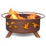 Patina F114 Wild Ducks Fire Pit