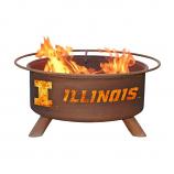 Patina F220 University of Illinois Fire Pit