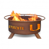 Patina F225 University of Miami Fire Pit