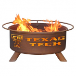 Patina F233 Texas Tech Fire Pit