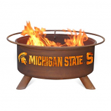 Patina F403 Michigan State Fire Pit
