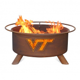 Patina F431 Virginia Tech Fire Pit