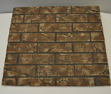 HPC Light Tan Decorative Firebrick Panel