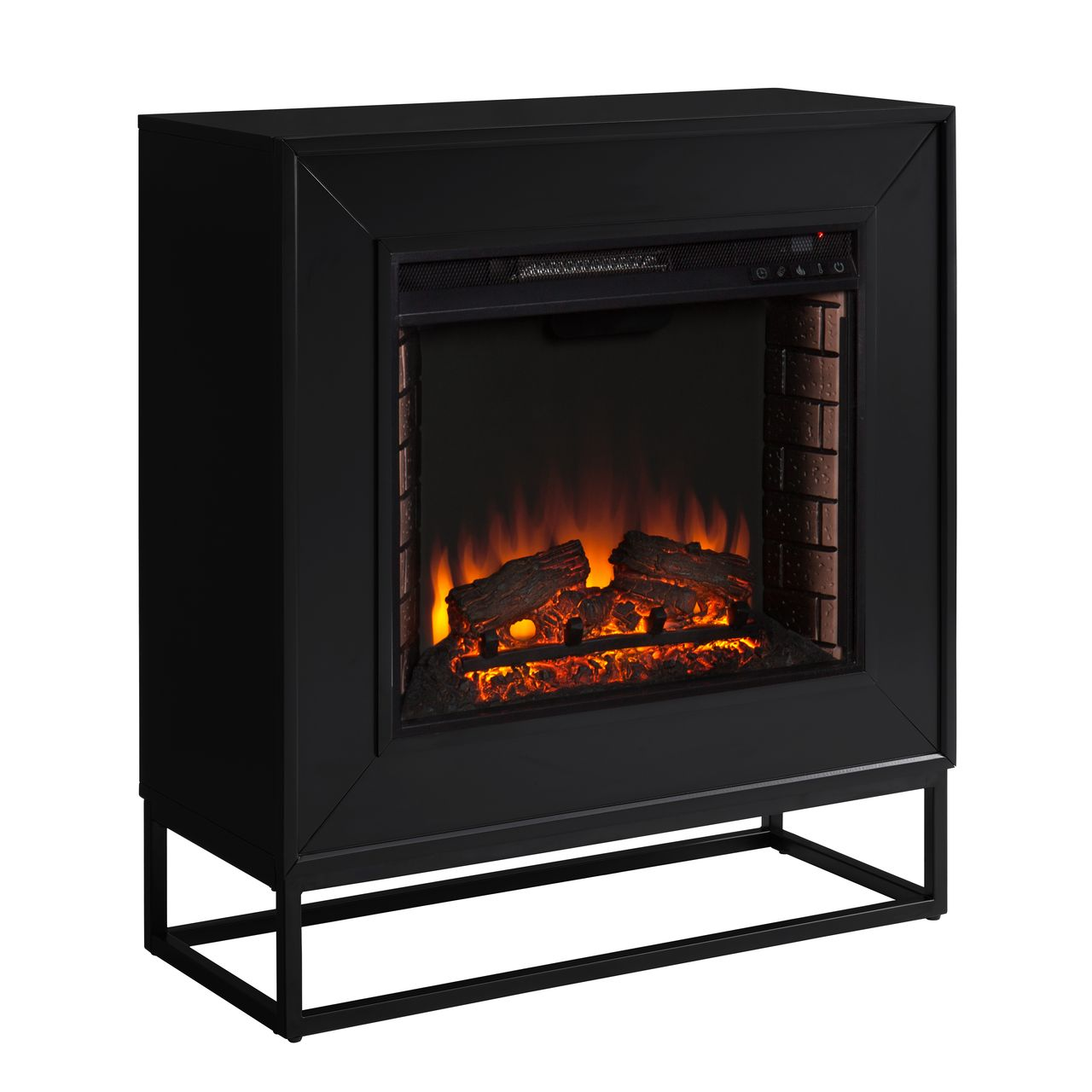 Holly & Martin Frescan FE1063059 Electric Fireplace in Black