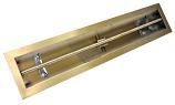 HPC 36 Inch Stainless Steel Firepit Trough Burner LPG Model -Match Lit