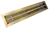 HPC 72 Inch Stainless Steel Firepit Trough Burner LPG Model -Match Lit