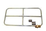 """24"""" x 12"""" Liquid Propane Rectangle Burner, Match Lit Ignition"""
