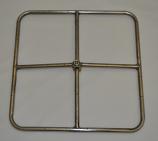 "18"" Liquid Propane Square Burner, Match Lit Ignition"