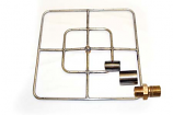 "24"" Liquid Propane Square Burner, Match Lit Ignition"