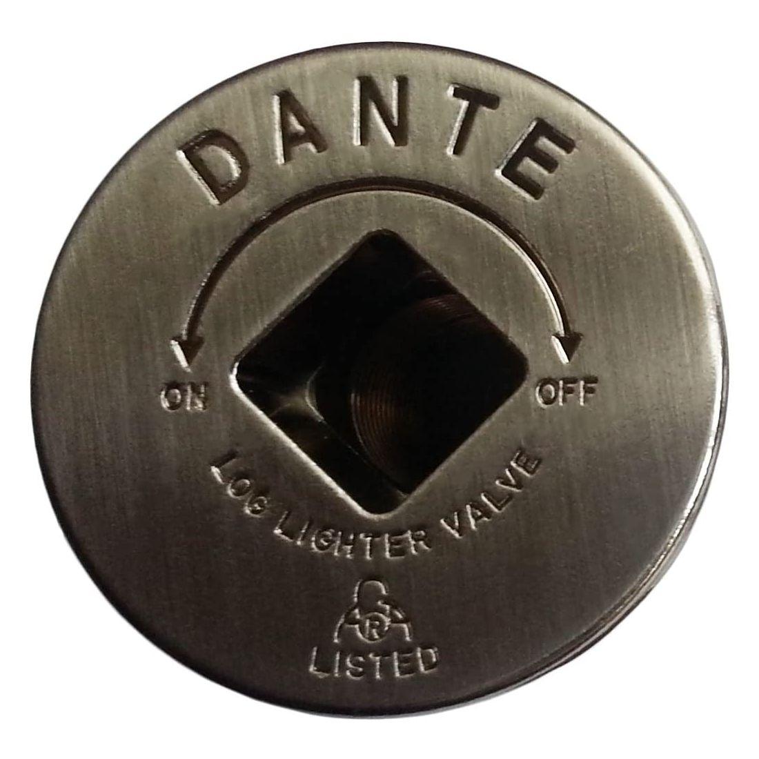 Dante Gas Valve Floor Plate - Pewter