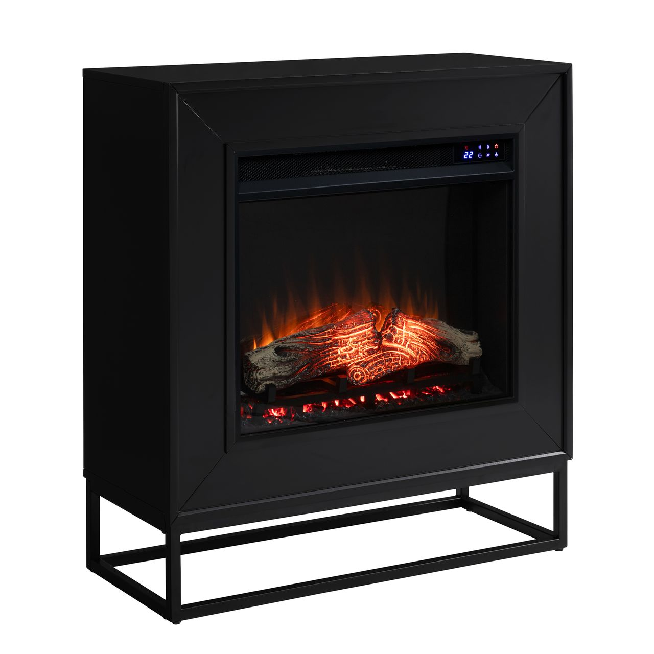 Holly & Martin Frescan FR1063059 Electric Fireplace in Black