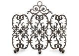 3-Panel Siena Fireplace Screen with Arch - Bronze