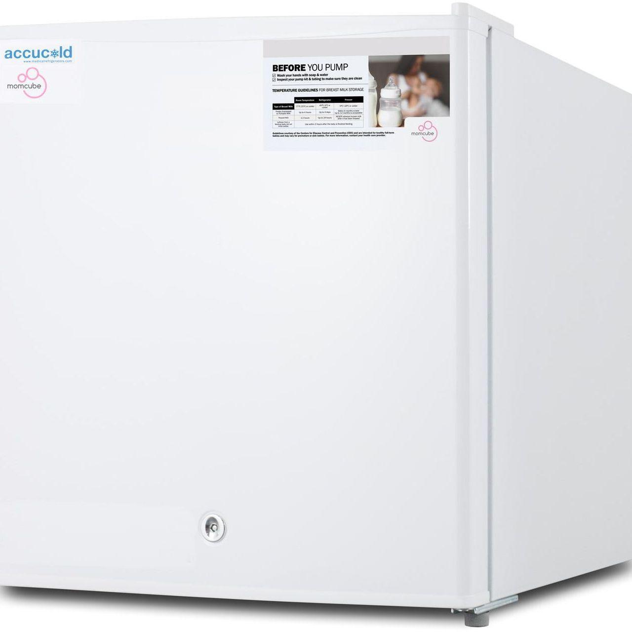 Summit FS24LMC 1.4 Cu Ft Countertop MOMCUBE Breast Milk Freezer