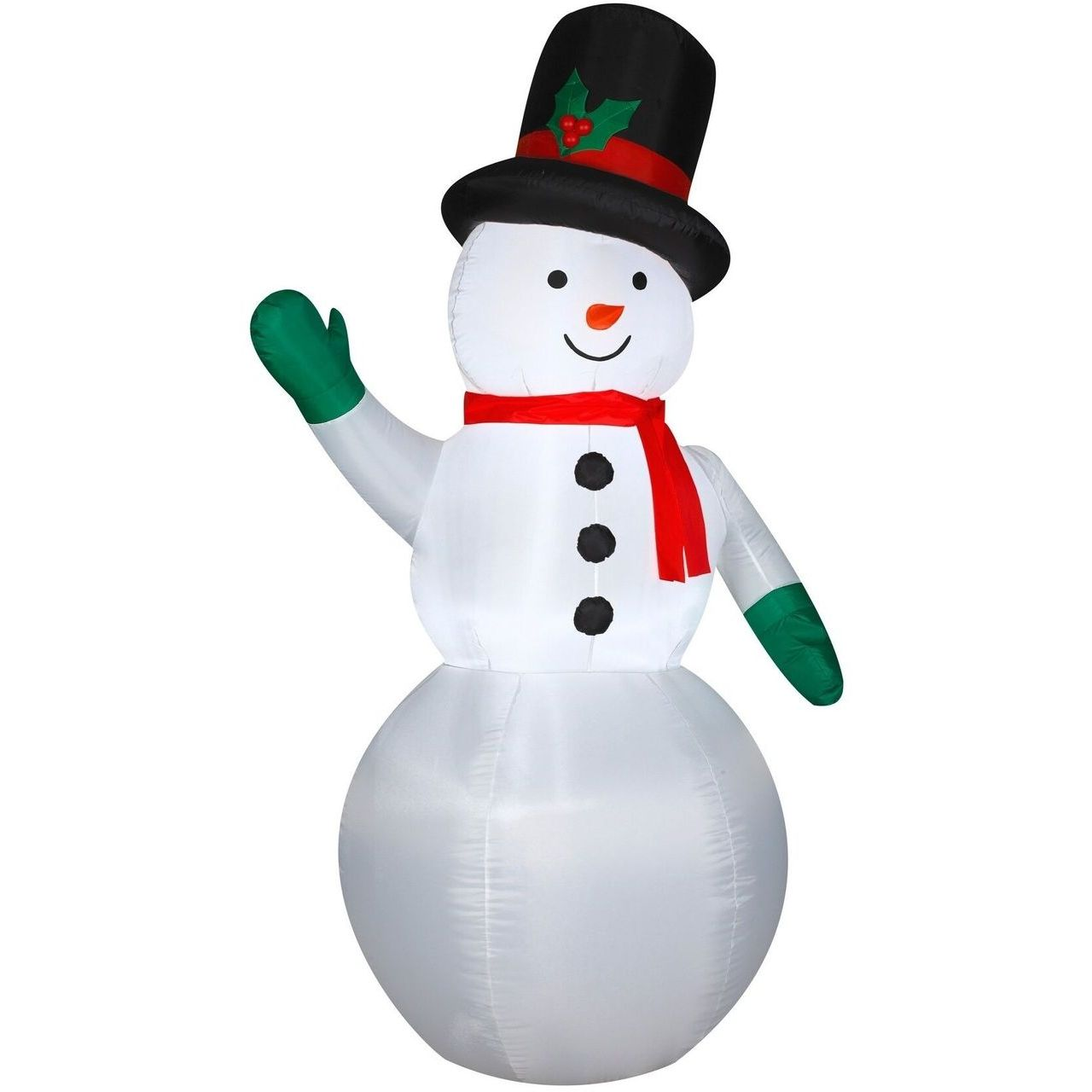 Gemmy Snowman Inflatable Yard Decor
