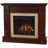 Real Flame G8600E-DM Silverton Electric Fireplace - Dark Mahogany