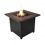 Endless Summer The Duval LP Gas Outdoor Fire Pit With Resin Mantel