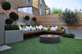 Genesis Fire Table in Charcoal - Natural Gas