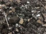 Black Crushed Tempered Fire Glass