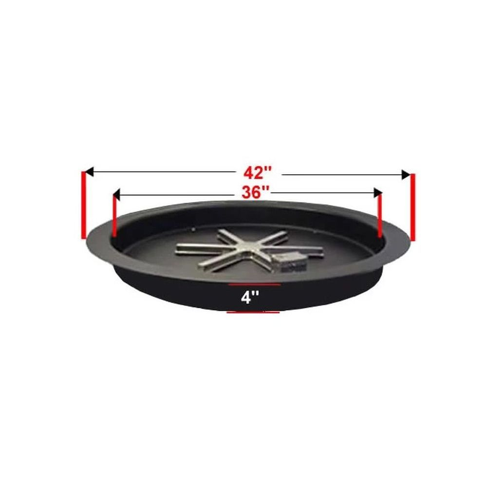 """Golden Blount 36"""" Pan For Grand Fire Pit"""