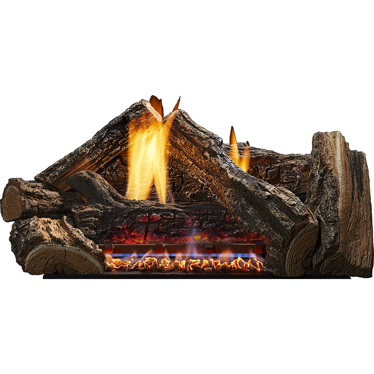 "24"" IntelliFire Plus Glow Getter Burner, Natural Gas with Remote Control, 29,000 BTU"
