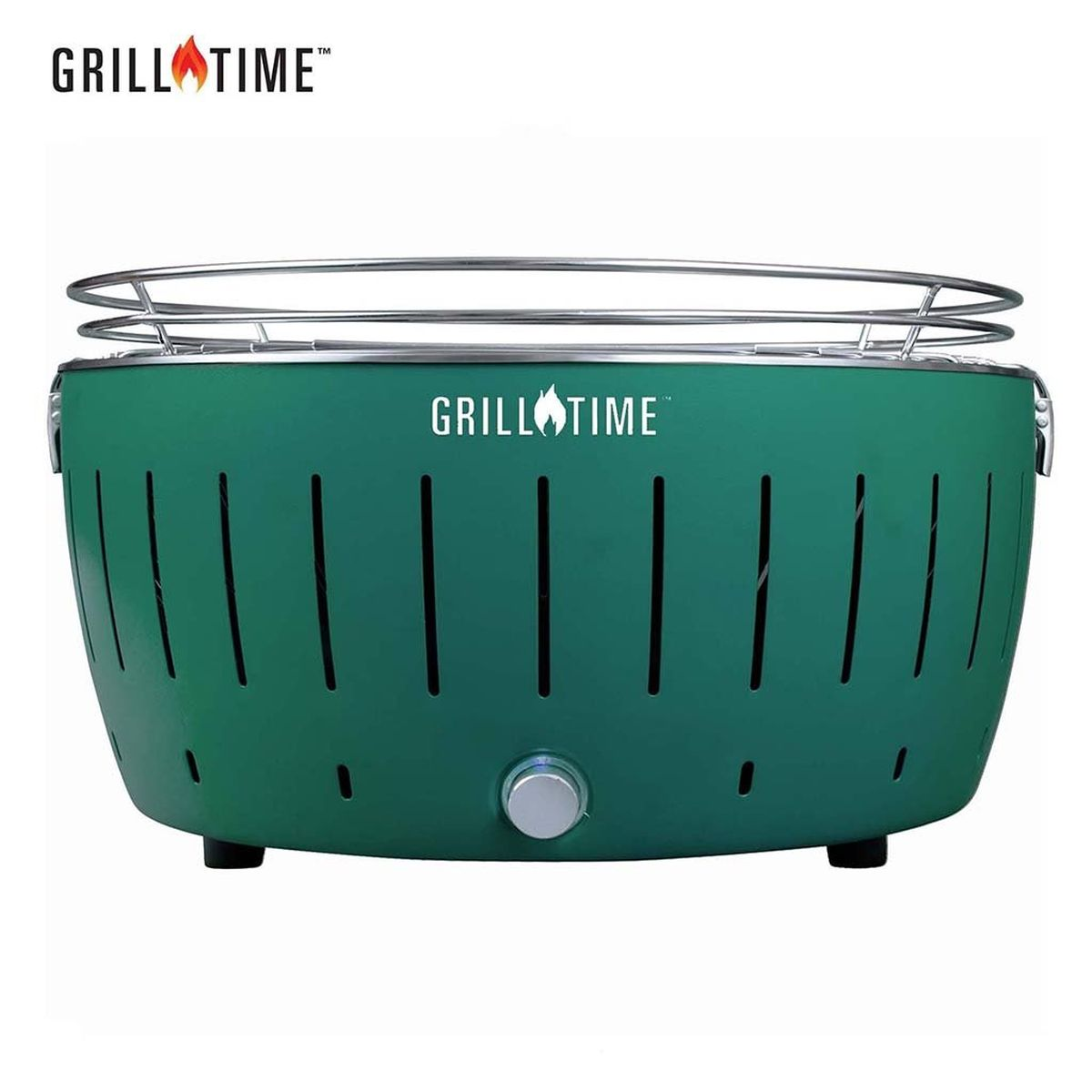 Grill Time Tailgater GTX XL Pack Portable Charcoal Grill - Green