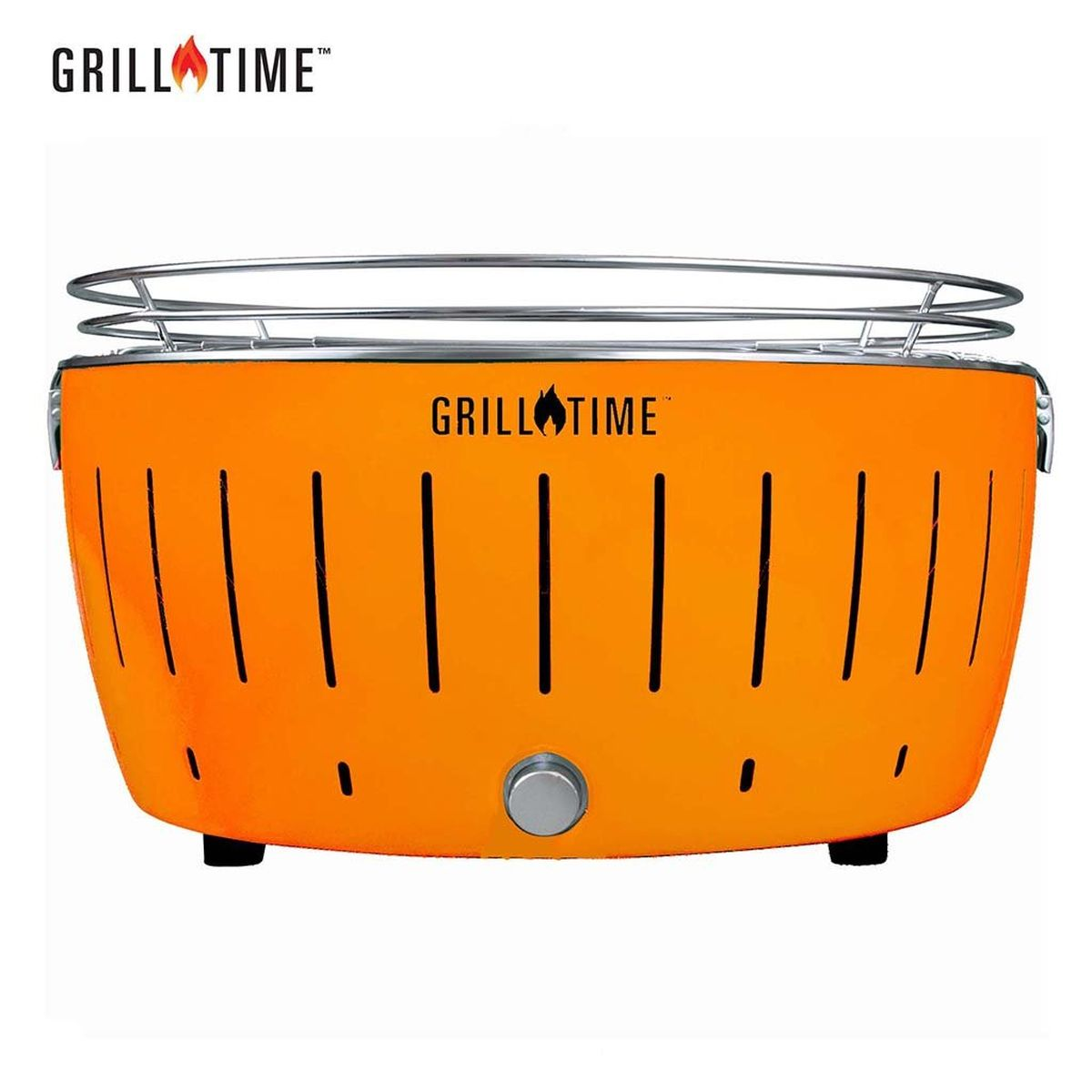 Grill Time Tailgater GTX XL Pack Portable Charcoal Grill - Orange