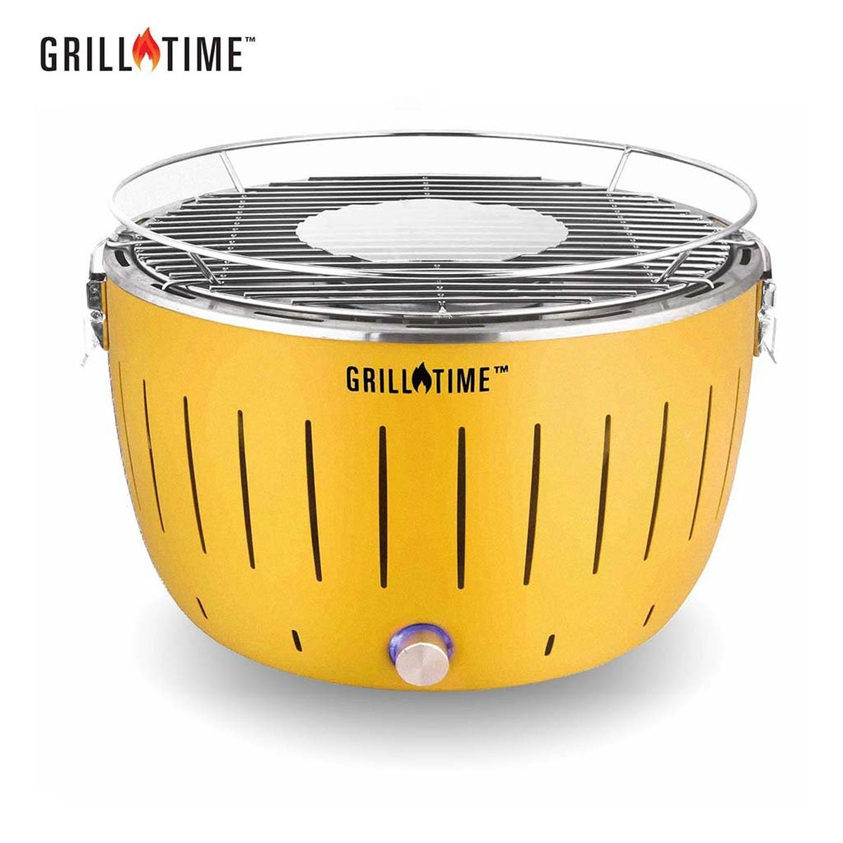 Grill Time Tailgater GT Regular Pack Portable Charcoal Grill - Yellow
