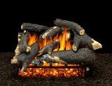 """24"""" Granada Split Logs w/Single Pilot kit Burner Tube & Remote - LP"""