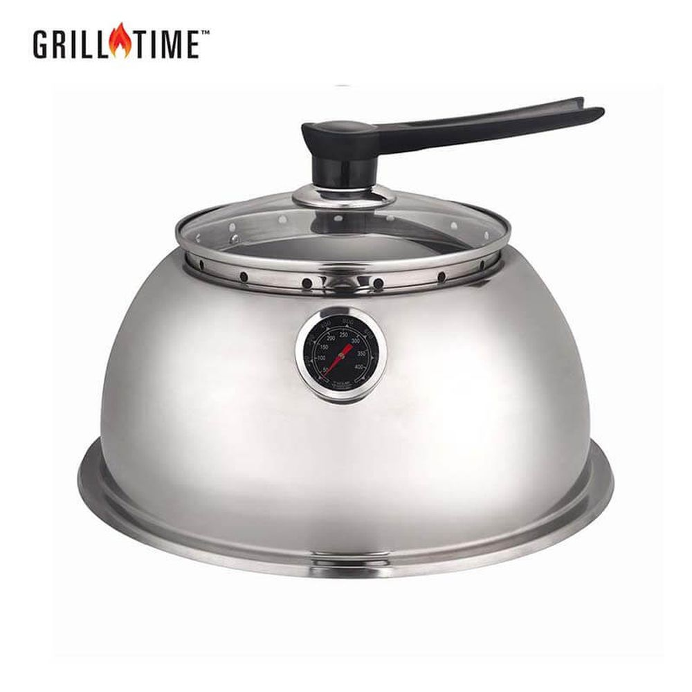 Grill Time Tailgater GT Regular Stainless Steel Hood