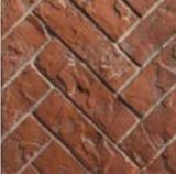 HB42RRH 3 Piece Red Herringbone Refractory Fiber Brick Liner