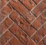 HB36RRH 3 Piece Red Herringbone Refractory Fiber Brick Liner