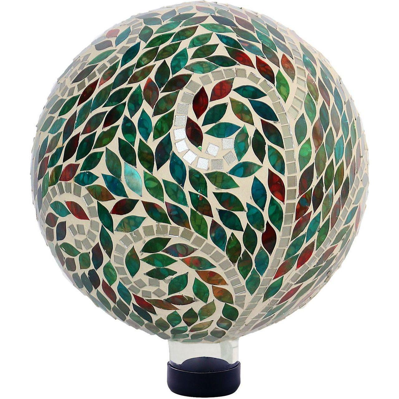 Alpine HGY286 Mosaic Scroll Pattern Gazing Globe