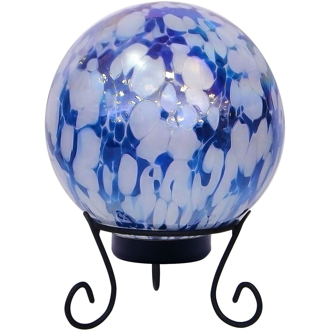 Alpine HGY308A-TM Blue and White Gazing Globe with LED Lights