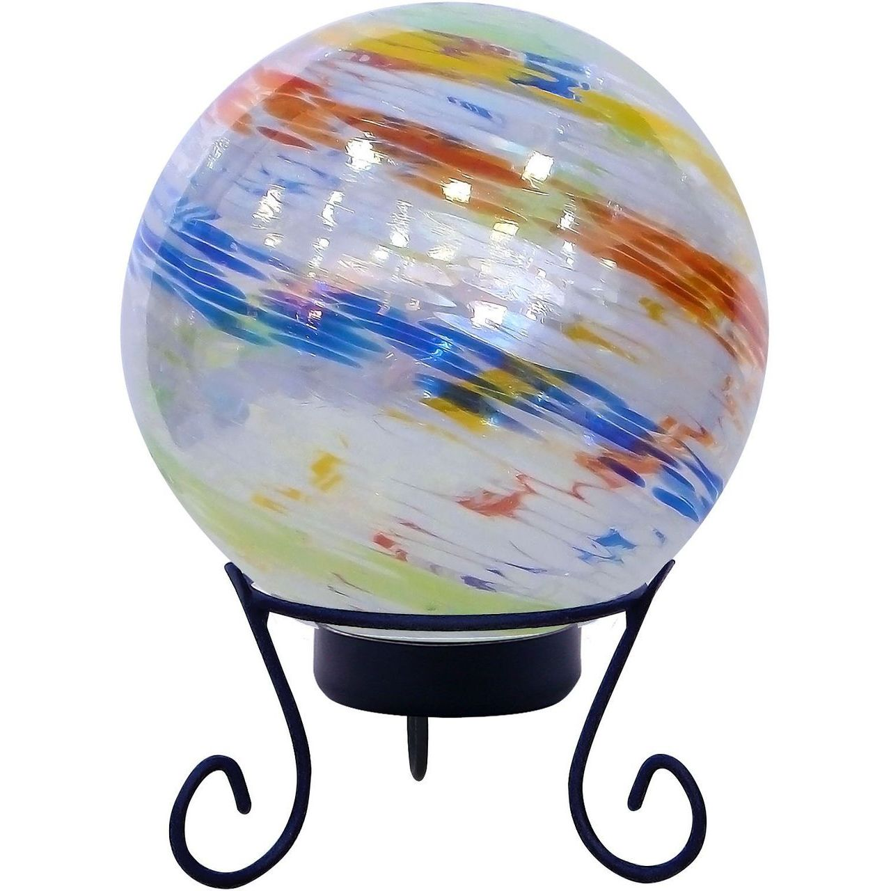 Alpine HGY310A-TM Colorful Gazing Globe with LED Lights & Stand